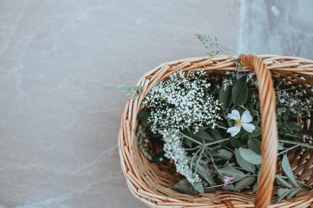 flora and fauna basket - Creating Your Own Postpartum Healing Basket